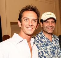 Sean Huze and Tony Shalhoub at the Campaign For A New GI Bill.