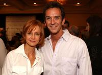 Swoozie Kurtz and Sean Huze at the Campaign For A New GI Bill.