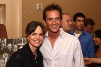 Sally Field and Sean Huze at the Campaign For A New GI Bill.