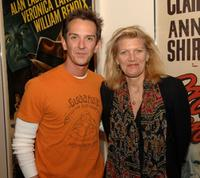 Sean Huze and Patricia Foulkrod at the screening of