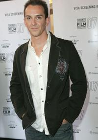 Sean Huze at the North American premiere screening of