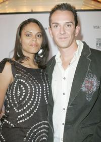 April Turner and Sean Huze at the North American premiere screening of