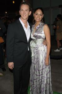 Sean Huze and Guest at the Los Angeles premiere of