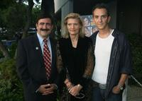 Shad Meshad, Patricia Foulkrod and Sean Huze at the premiere of