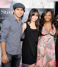 Walter Perez, Anna Maria Perez De Tagle and Naturi Naughton at the special screening of