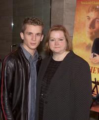 Shane Meier and Judy Shepard at the screening of