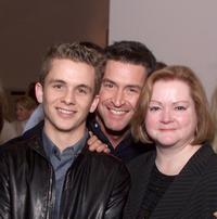 Shane Meier, Ed Gernon and Judy Shepard at the screening of