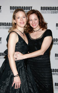 Kathryn Meisle and Kathleen McNenny at the opening night of