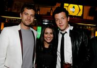 Joshua Jackson, Lea Michele and Cory Monteith at the Fox's Upfront presentation.