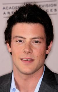 Cory Monteith at the Academy of Television Arts and Sciences