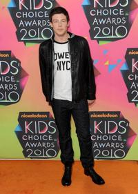 Cory Monteith at the Nickelodeon's 23rd Annual Kids Choice Awards.