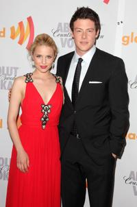 Dianna Agron and Cory Monteith at the 21st Annual GLAAD Media Awards.