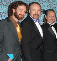 Sean Bridgers, Jim Beaver and William Sanderson at the HBO Emmy after party in California.