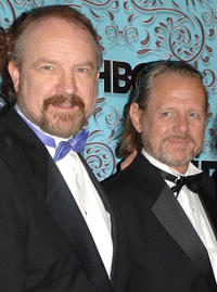 Jim Beaver and William Sanderson at the HBO Emmy after party in California.