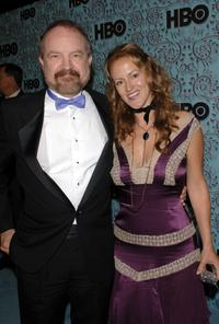 Jim Beaver and Guest at the HBO Emmy after party.