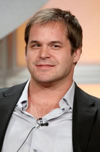 Kyle Bornheimer at the CBS portion of the Television Critics Association Press Tour.
