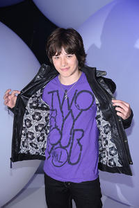 Leo Howard at the 2011 Disney Kids & Family upfront in New York.