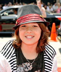 Leo Howard at the California premiere of