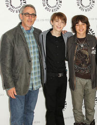Executive producer Marc Warren, Dylan Riley Snyder and Leo Howard at the Paley Center For Media's
