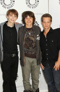 Dylan Riley Snyder, Leo Howard and Jason Earles at the Paley Center For Media's