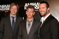 Luke Ford, Ben Mendelsohn and Sullivan Stapleton at the premiere of