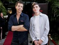 Ben Mendelsohn and Sam Parsonson at the media launch of