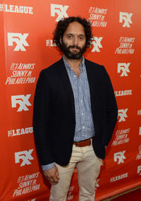 Jason Mantzoukas at the premiere and launch party of