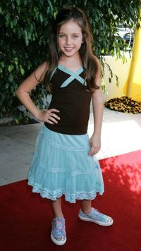 Ryan Newman at the 4th Annual Bogart Backstage Children's Choice Awards.