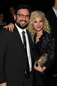 Horatio Sanz and Juno Temple at the after party of the New York premiere of