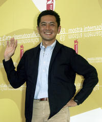 Director Goro Miyazaki at the photocall of