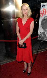 Actress Paula Malcomson arrives at the season three premiere screening of FX's 'Sons of Anarchy' at the Cinerama Dome Theater on August 30, 2010 in Los Angeles, California.