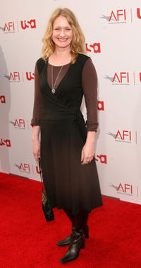 Paula Malcolmson at the 34th AFI Life Achievement Award tribute to Sir Sean Connery in California.