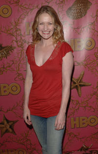 Paula Malcolmson at the HBO Post Emmy party in California.