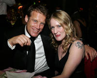 Mark Valley and Paula Malcolmson at the after party of 2006 Creative Arts Awards in California.