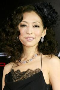 Yasuko Matsuyuki at the world premiere of