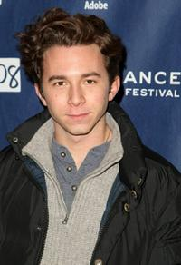 Aaron Himelstein at the premiere of