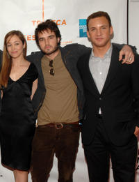 Autumn Reeser, Justin Mentell and Ben Savage at the New York premiere of