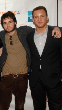 Justin Mentell and Ben Savage at the New York premiere of