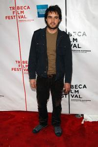 Justin Mentell at the premiere of