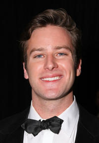 Armie Hammer Jr. at the 68th Annual Golden Globe Awards Party at The Beverly Hilton.