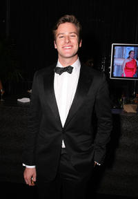 Armie Hammer Jr. at the Sony Pictures Classic 68th Annual Golden Globe Awards party.