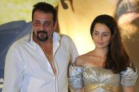 Sanjay Dutt and Kangana Ranaut at the press conference of