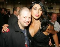 Jim Norton and Guest at the Adult Video News Adult Entertainment Expo.