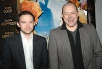 Nathan Corddry and Rob Corddry at the premiere of