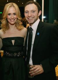 Sarah Pauslon and Nathan Corddry at the 9th Annual Dinner Benefiting the Lili Claire Foundation.