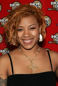 Keyshia Cole at the Hot 97 Summer Jam.