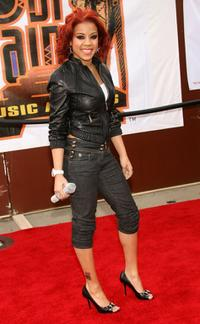 Keyshia Cole at the 20th Annual Soul Train Music Awards.