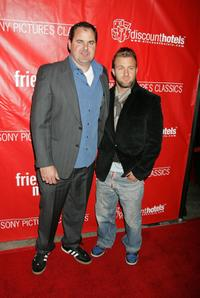 Bob Stephenson and Scott Caan at the premiere of