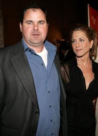 Bob Stephenson and Jennifer Aniston at the premiere of