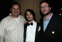 Bob Stephenson, Lou Taylor Pucci and producer Callum Greene at the after party of the premiere of